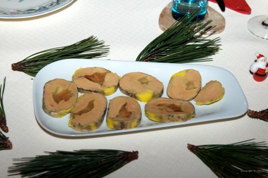 Ballotine de foie gras for Entree avec du foie gras froid